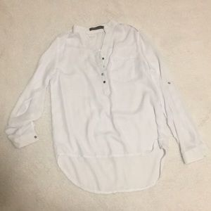 White zanzea blouse *NEVER WORN*